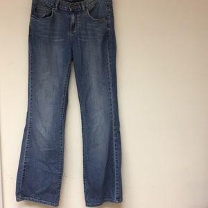 Calvin Klein Flare Denim Jeans Size 6